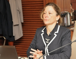 USAID/PROLoG organized a presentation for the High Council of Justice (HCOJ) on Strategic Communication