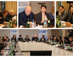Presentation of Legislative Amendments Regulating Sexual Harassment