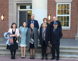 USAID/PROLoG Organizes Third Study Tour to the U.S. for Civil and Administrative Judges (ka)
