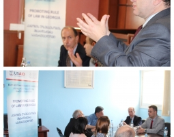 Judges from Poti and Kutaisi Share Knowledge Gained in the U.S. During Judicial Exchange