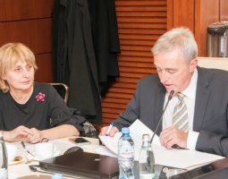 USAID/PROLoG Assists High Council of Justice to Improve its Rules of Operation (ka)