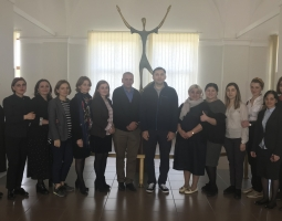 Group of judicial assistants at Kutaisi Appellate Court