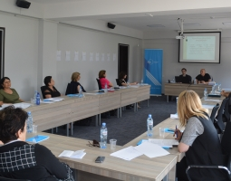 Tbilisi City Court judges Aleksandre Iashvili and Irakli Kopaliani discuss general concepts in human rights