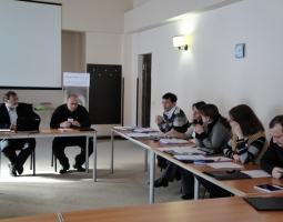 Georgian Bar Association Ethics Committee Training