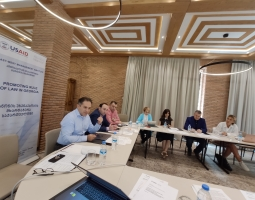 USAID/PROLoG supports a Workshop with Parliament on Selection of CJ Judges (ka)