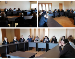 GTUC Discusses Labor Rights with Women Residing in Kutaisi