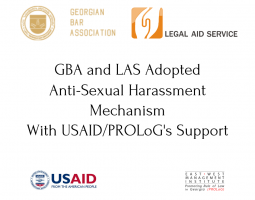 Anti-Sexual Harassment Mechanism Policy for GBA and LAS