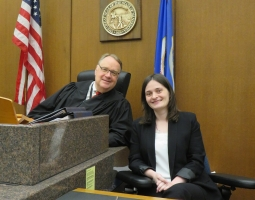 USAID/PROLoG Sends Judicial Assistant to Minneapolis for Secondment at Local District Court (ka)