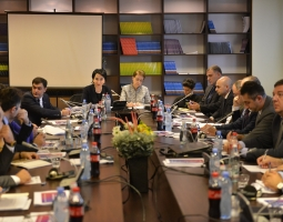 Parliament Working Group on Judicial Reform Legislative Amendments Meets at Tbilisi City Court