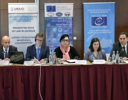 USAID/PROLoG Presents Assessment Report on the  Need for Judges in Georgia (ka)