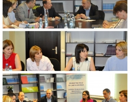 Tbilisi Judicial Exchange Judges Share Knowledge Gained in the U.S.