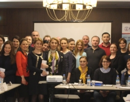 Group of judicial assistants from Tbilisi and Kutaisi Appellate Courts