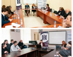 Visit of the Independent Inspector and GBA Ethics Commission in Gori (ka)
