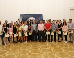Closing ceremony of the Summer School