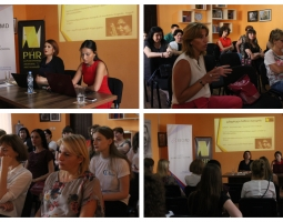 PHR Conducts Meeting about Gender Discrimination in Kutaisi, West Georgia