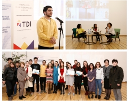 TDI Organizes Awards Ceremony for Youth Contest Winners and Presentation of New Documentary Videos