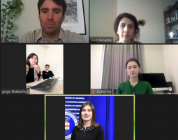 Online Meeting with Representatives of MIA, Prosecutor's Office and PROLoG Expert Tamas Kadar