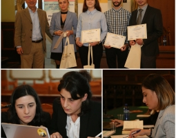 Students participate in the Human Rights Moot Court Competition