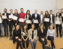 Legal ethics moot court participants and organizers