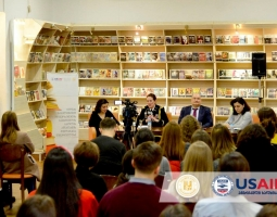 US military attaché in Georgia speaks about challenges facing women in the Military