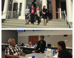 Georgian judges learning about judicial leadership at the National Judicial College in the U.S.